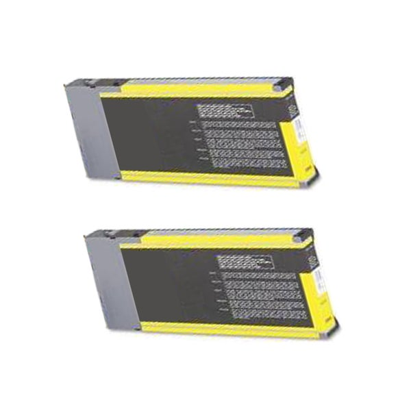 2 Pack Epson T544400 Compatible Ink Cartridge For Epson Stylus Pro 4000 7600 9600 ( Pack of 2 )