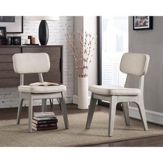 Spectrum Natural Linen Dining Chair (Set of 2)