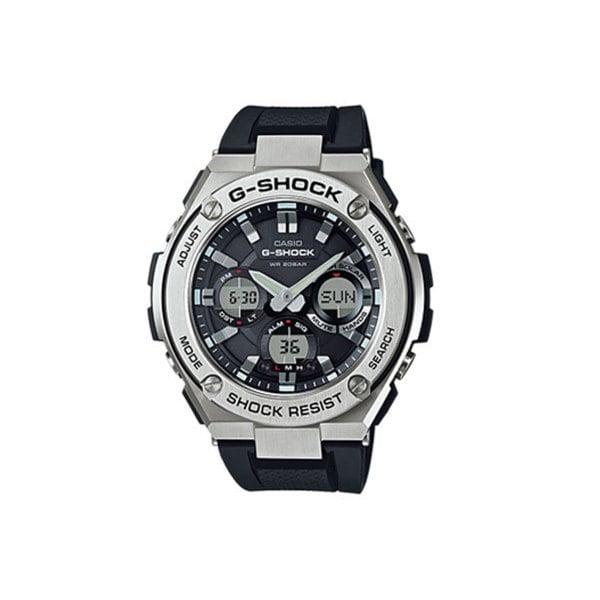 Casio G-Shock GSTS110-1A G-Steel Smoke Dial SS Resin Chrono Quartz Men's Watch 17100195