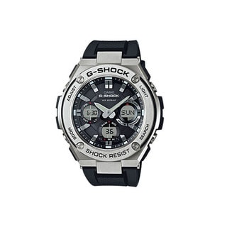 Casio G-Shock GSTS110-1A G-Steel Smoke Dial SS Resin Chrono Quartz Men's Watch