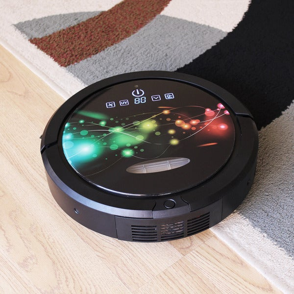 Infinuvo CleanMate QQ6 Robotic Vacuum Cleaner with HEPA Filter