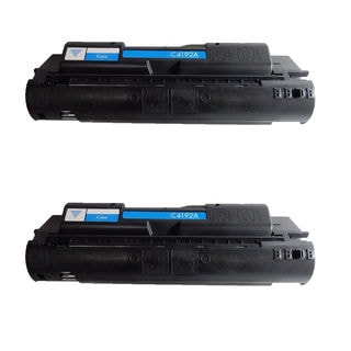 2PK Compatible C4192A Toner Cartridges For HP Color LaserJet 4500 4500DN 4500HDN 4500N 4550 4550DN 4550HDN 4550N ( Pack of 2)