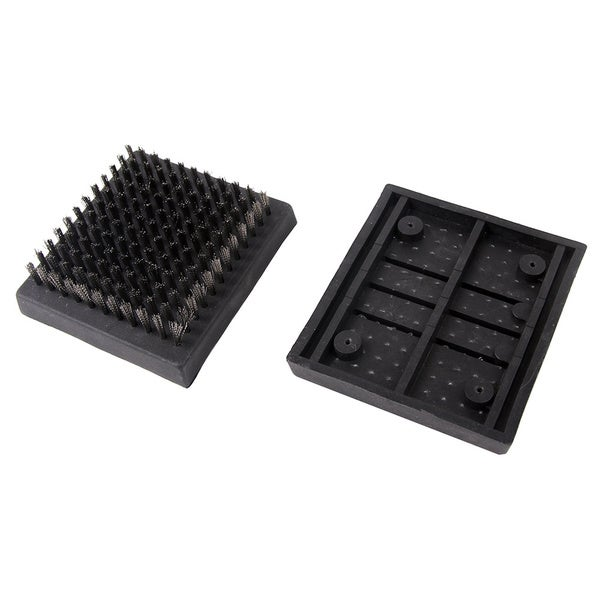 MAN LAW Grill Brush Replacement Head - 2 pack