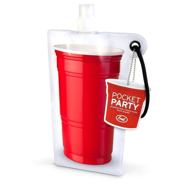 Pocket Party - Flat Flask