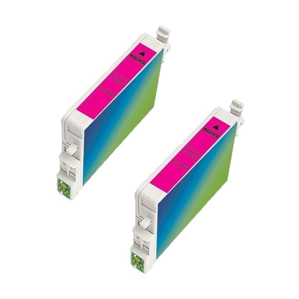 2 Pack Epson T054320 Magenta Compatible Ink Cartridge For Epson Stylus Photo R800 R1800 ( Pack of 2 )