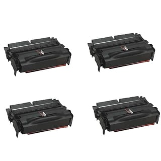 4PK Compatible 12A6735 Toner Cartridge For Lexmark T520 T522 X520 X522 ( Pack of 4)