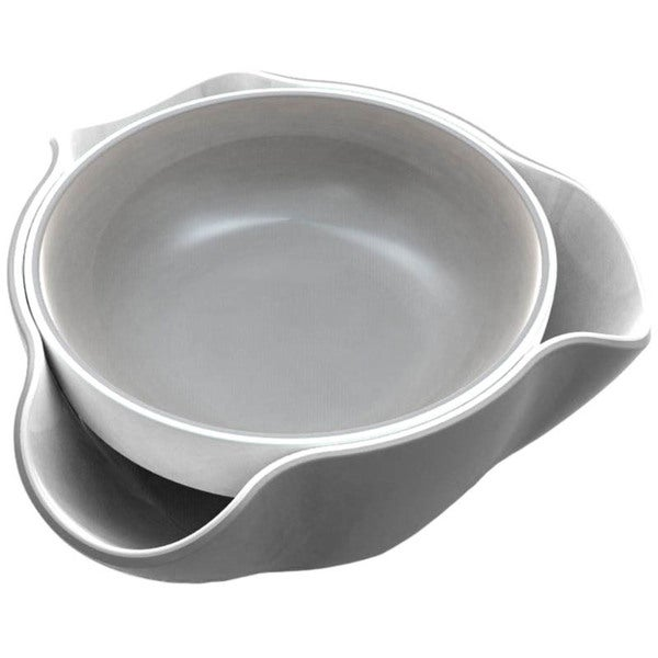 Joseph Joseph Double Dish, Gray & White