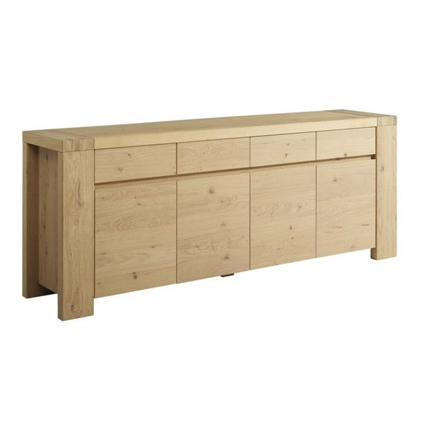 Aaron French Oak Sideboard with 4 Doors