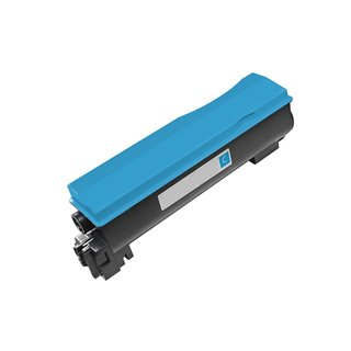 1PK Compatible TK542C Toner Cartridge For Kyocera FS C5100 C5100DN ( Pack of 1 )