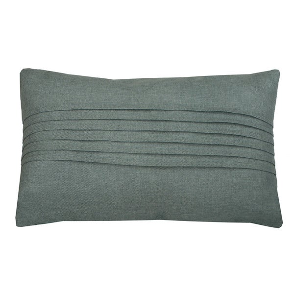 Corey Pleated Feather Filled 14 x 24 Throw Pillow