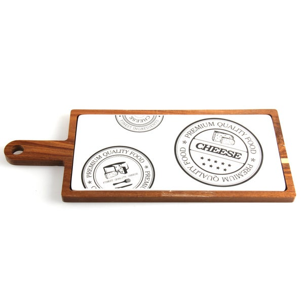 Vanilla Slice 12.5-inches Paddle Cheese Serving Board