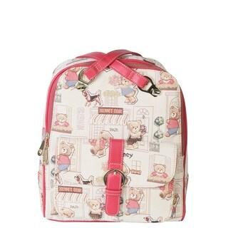 Henney Bear Backpack Canvas Handbag