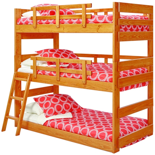 Woodcrest Heartland Triple Bunk Bed