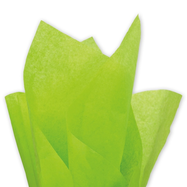 Citrus Green Solid Tissue Paper