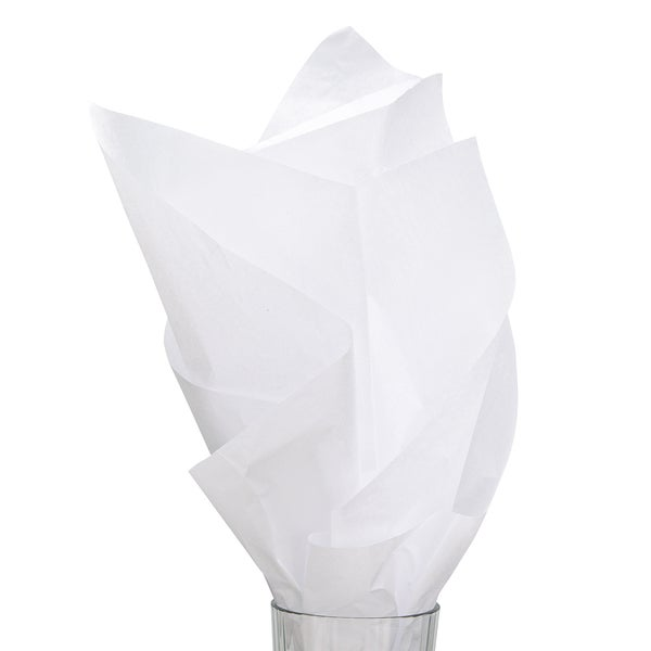 Solid White Tissue Paper