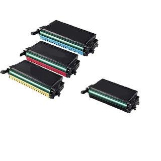 1Set Compatible CLP-K660B CLP-C660B CLP-M660B CLP-Y660B Toner Cartridge For Samsung CLP610 CLP610ND CLP660 ( Pack of 4 )