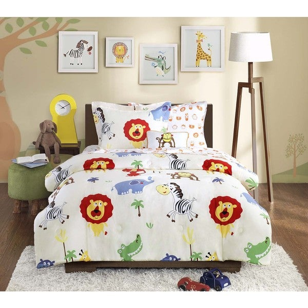 Mi Zone Kids Jungle Josh Complete Bed and Sheet Set