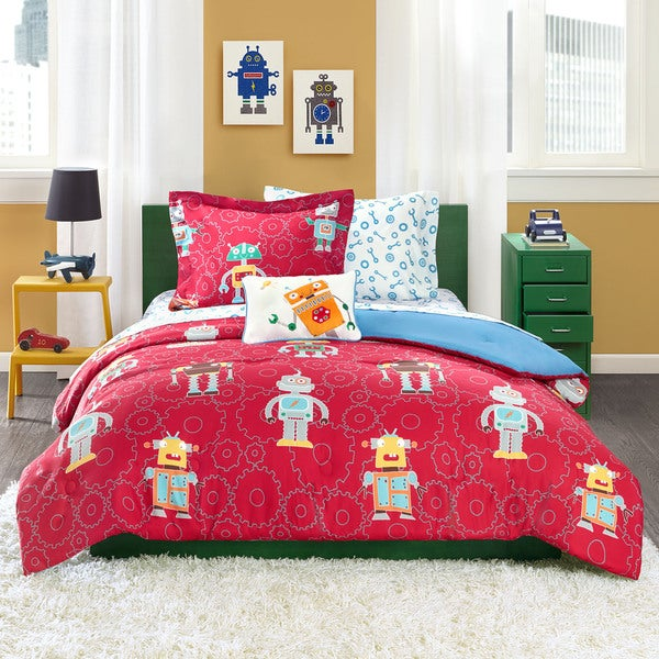 Mi Zone Kids Digital Danny 8-piece Bed in a Bag with Sheet Set