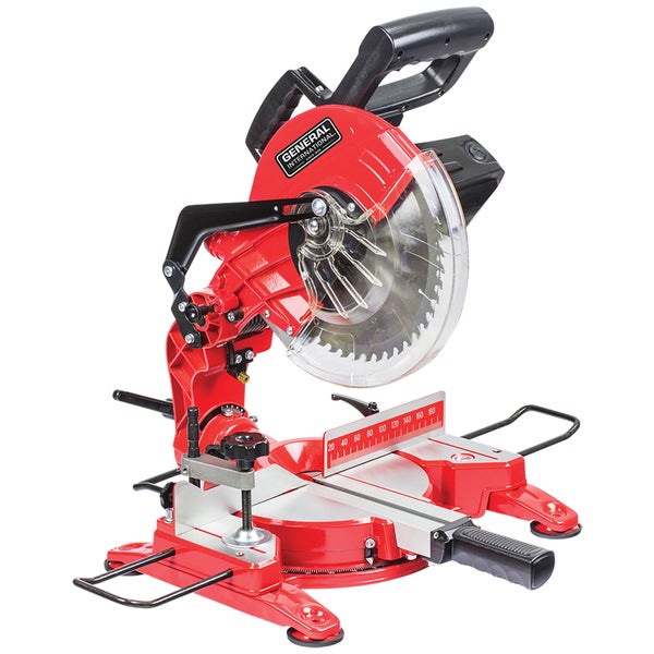 General International 10-inch Compound Miter Saw