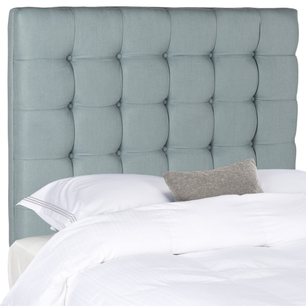 Safavieh Lamar Slate Blue Tufted Headboard (Full)