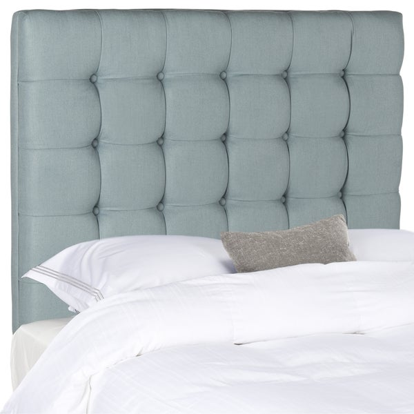 Safavieh Lamar Slate Blue Tufted Headboard (King)