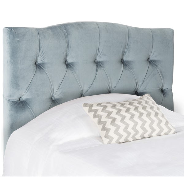 Safavieh Axel Wedgewood Blue Tuffed Headboard (Twin)