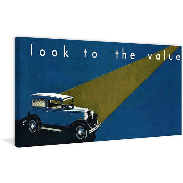 "Marmont Hill - ""Look to the Value"" Painting Print on Canvas"