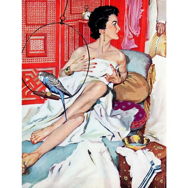 "Marmont Hill - ""The Strange Woman"" by Bernard D'andrea Painting Print on Canvas"