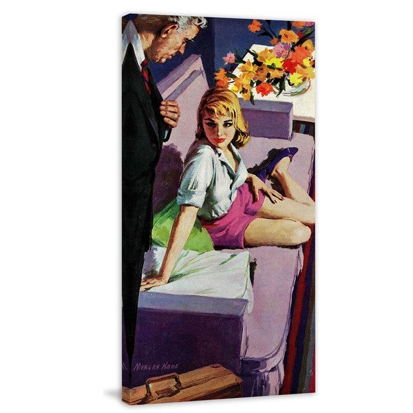 "Marmont Hill - ""A Matter of Infidelity"" by Morgan Kane Painting Print on Canvas"