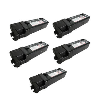5PK 106R01334 Compatible Toner Cartridge For Xerox Phaser 6125 6125N ( Pack of 5 )