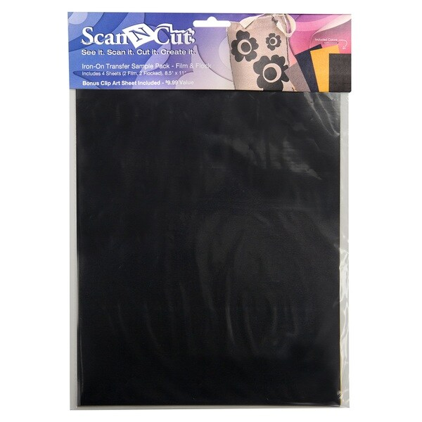 ScanNcut Iron-on Sample Film