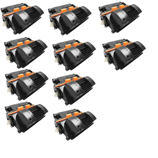 10PK Compatible CF281X 81X Toner Cartridge For HP LaserJet Enterprise Flow MFP M630z ( Pack of 10)