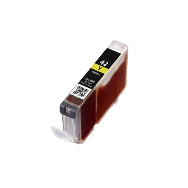 1PK CLI-42Y Compatible Ink Cartridge For Canon PIXMA Pro 100 ( Pack of 1 )