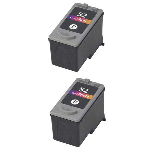 2PK CL-52 Photo Compatible Ink Cartridge For Canon PIXMA MP150 MP160 MP170 MP180 ( Pack of 2 )
