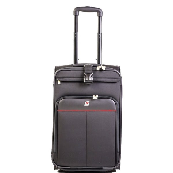 Andare Monterrey 22-inch Expandable Carry-on Rolling Upright Suitcase