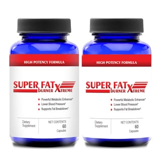 Super Fat Burn Extreme Natural Supplement for Weight Loss with Cinnamon and Chromium (60 Capsules)