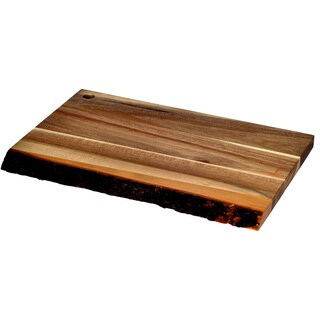 Pacific Merchants Acaciaware Rustic Serving and Cutting Board