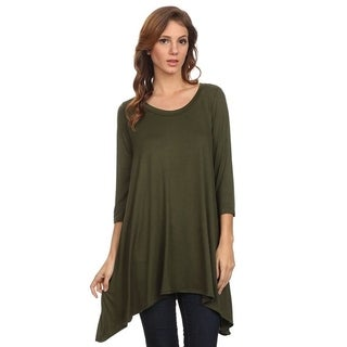Moa Women's Solid Knit Tunic