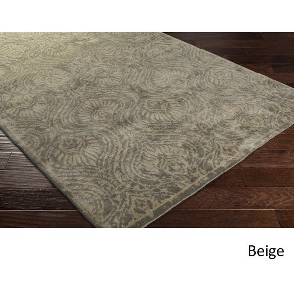 Dwell : Hand Knotted Admission Wool Rug (8' x 10')