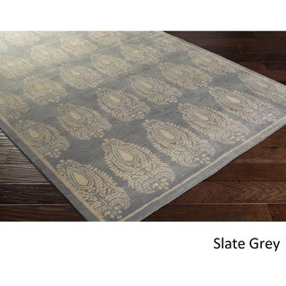 Dwell : Hand Knotted Airport Wool Rug (8' x 10')