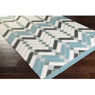Beth Lacefield : Hand Woven Academy Cotton Rug (2' x 3')