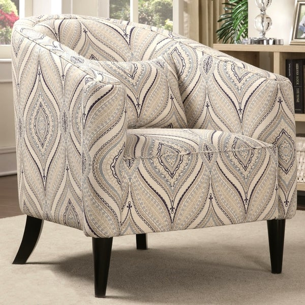 Slate Living Room Upholstered Accent Chair