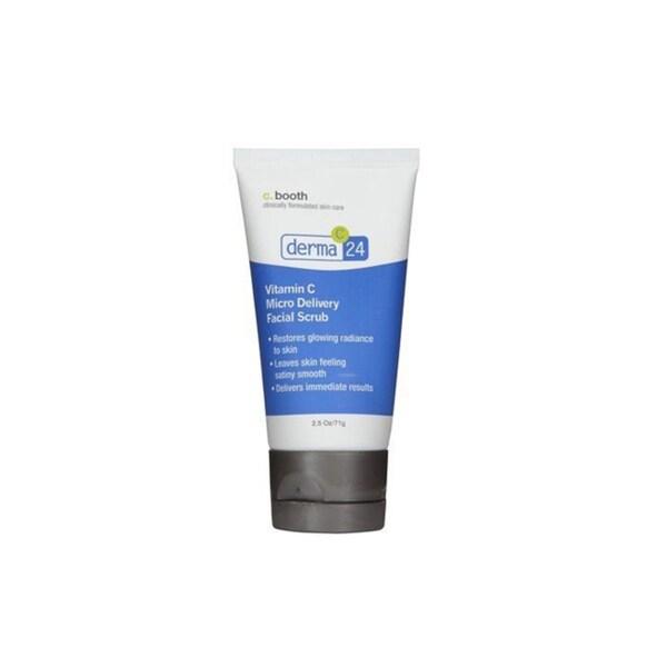 C. Booth Derma Vitamin C 2.5-ounce Micro Facial Scrub