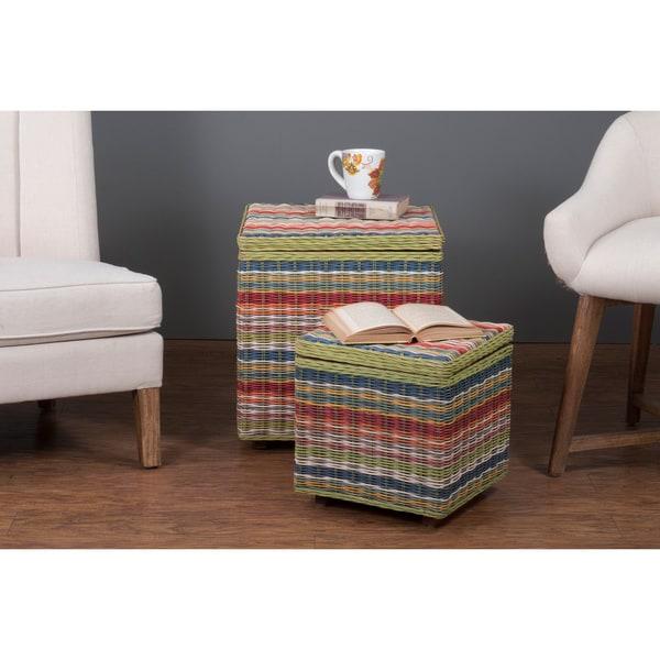 Pierre Square Storage Cube Basket