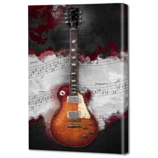 Menaul Fine Art's 'Jazz Guitar Red' by Scott J. Menaul