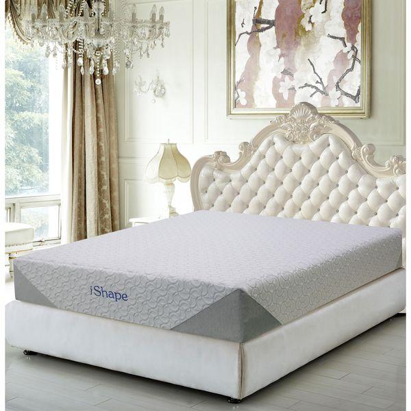 iShape Jasmine 10-inch Queen-size Memory Foam Mattress