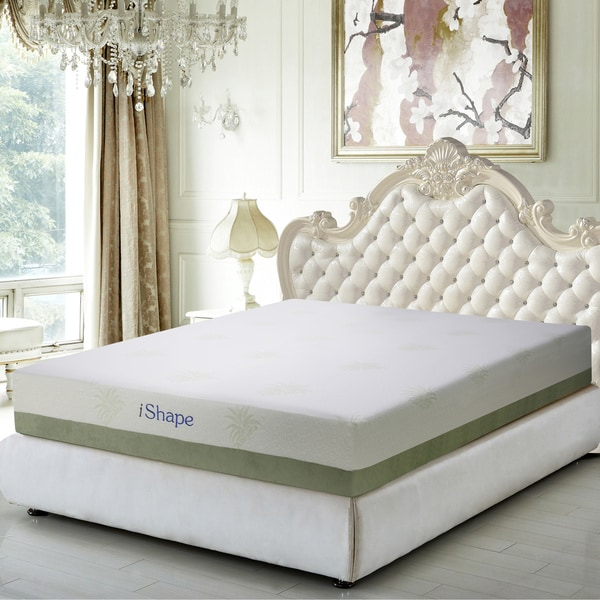 iShape Aloe Vera 10-inch Full-size Gel Memory Foam Mattress