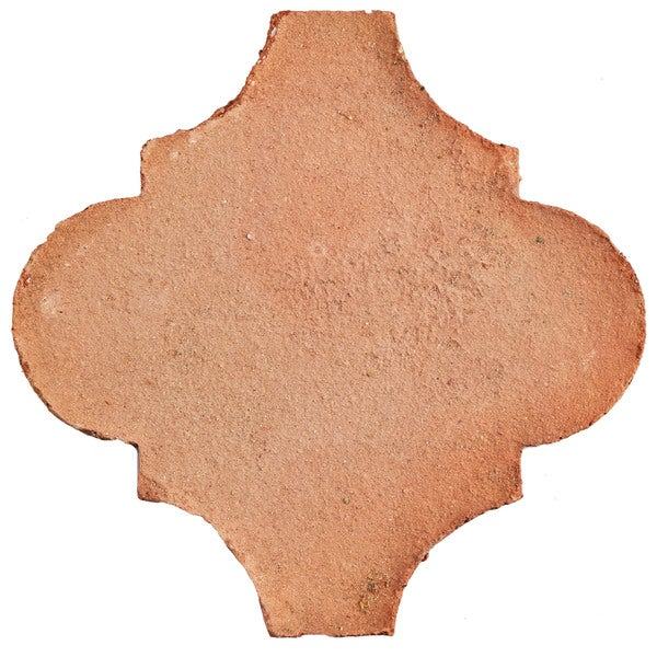 SomerTile 6x6-inch Tres Valles Morocco Spanish Terra Cotta Paving Tile (Pack of 6)