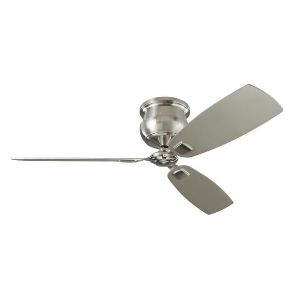 Monte Carlo Cannondale 3 Blade Brushed Steel Ceiling Fan