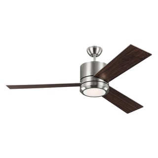 Monte Carlo Vision Max 3 Blade Brushed Steel Ceiling Fan